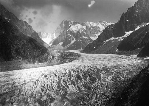 photos anciennes de la mer de glace
